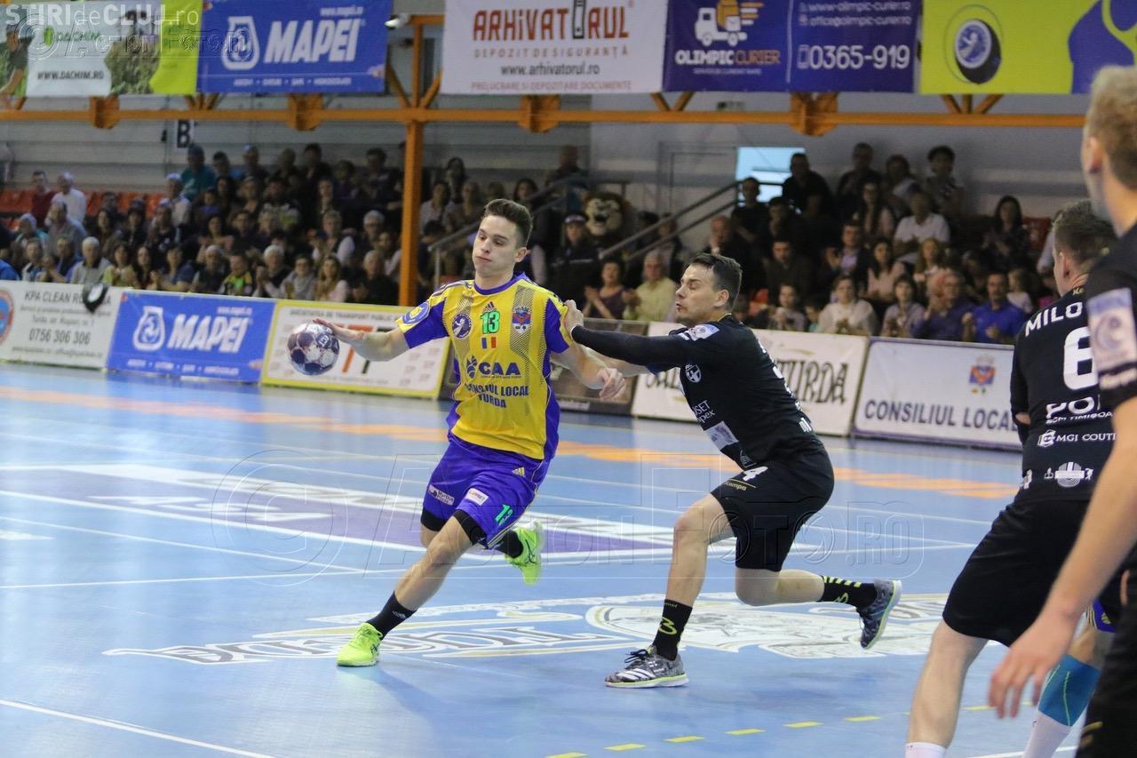 Potaissa Turda, cu un picior în semifinalele play-off-ului! A câștigat meciul cu Politehnica Timișoara