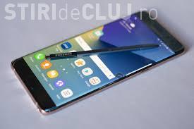 Samsung scoate din nou la vânzare Note 7. Cât va costa