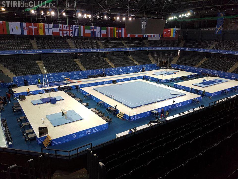 Clujul este pregătit pentru Campionatele Europene de Gimnastică. Ce REGULI trebuie să respectați - FOTO