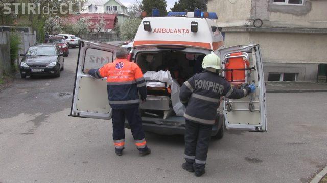 CLUJ: Un bărbat a ajuns la spital în urma unui accident de muncă la Barajul de la Mănăstirea VIDEO