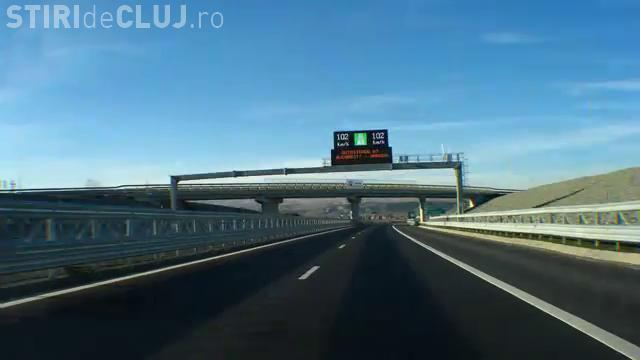 "Abia inaugurat, tronsonul de 10 km din Autostrada Transilvania a ajuns ""star"" pe You Tube - VIDEO"