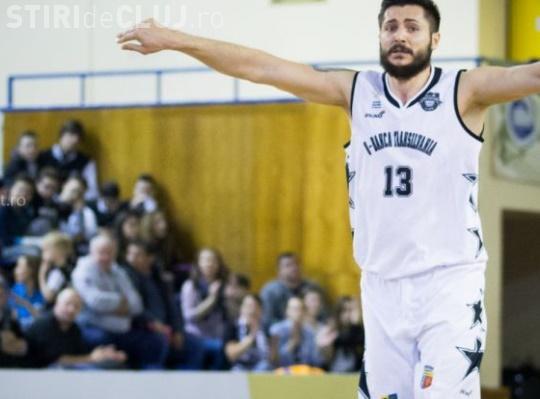 Căpitanul echipei de baschet U-BT se retrage după ce a adus titlul la Cluj: Am avut un sezon extraordinar