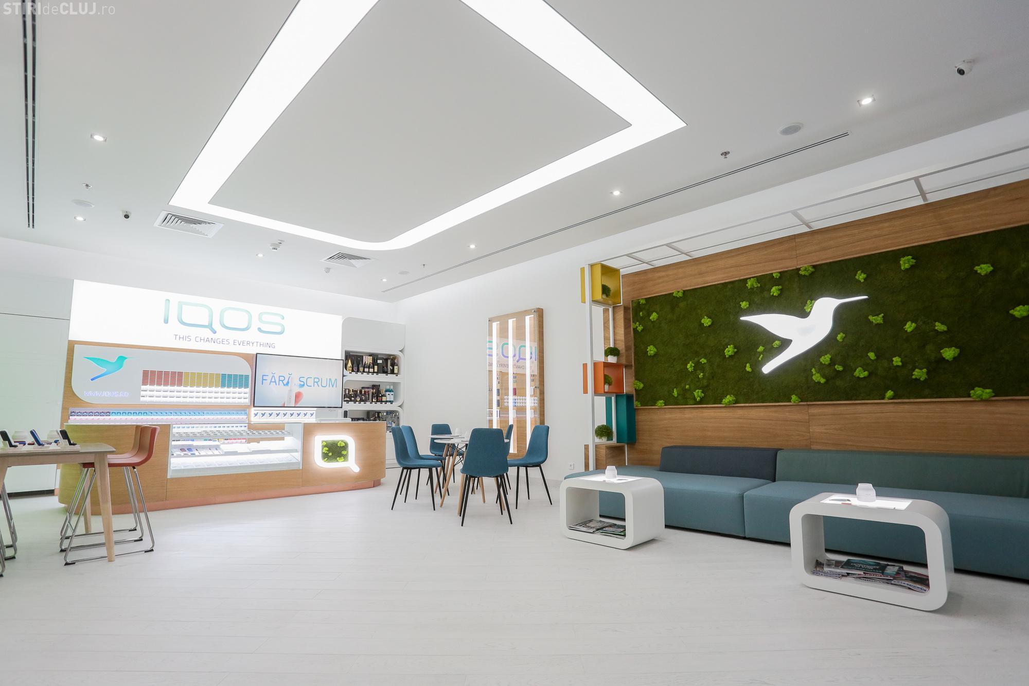 Philip Morris a deschis la Cluj primul IQOS Store din România. Vezi cum arată și unde se găsește (P)