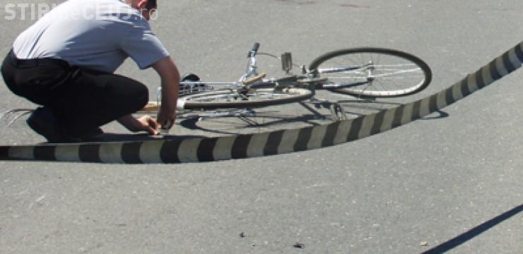 Biciclist beat accidentat în Florești de un șofer băut și fără permis de conducere. Acesta a fugit, dar poliția l-a prins RAPID