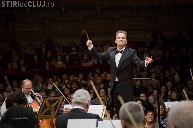 Cluj: Concert vocal-simfonic sub bagheta dirijorului David Crescenzi