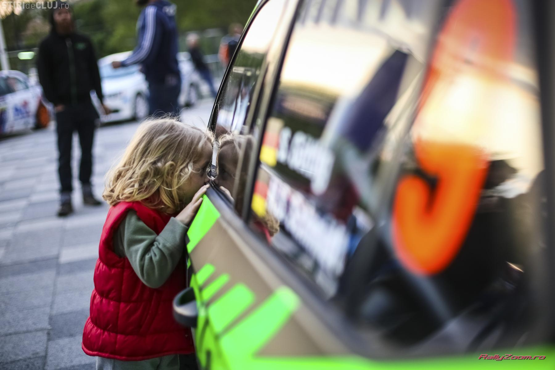Imagini de la debutul BT Transilvania Rally. Clujul este iarăși lider național în sport - FOTO