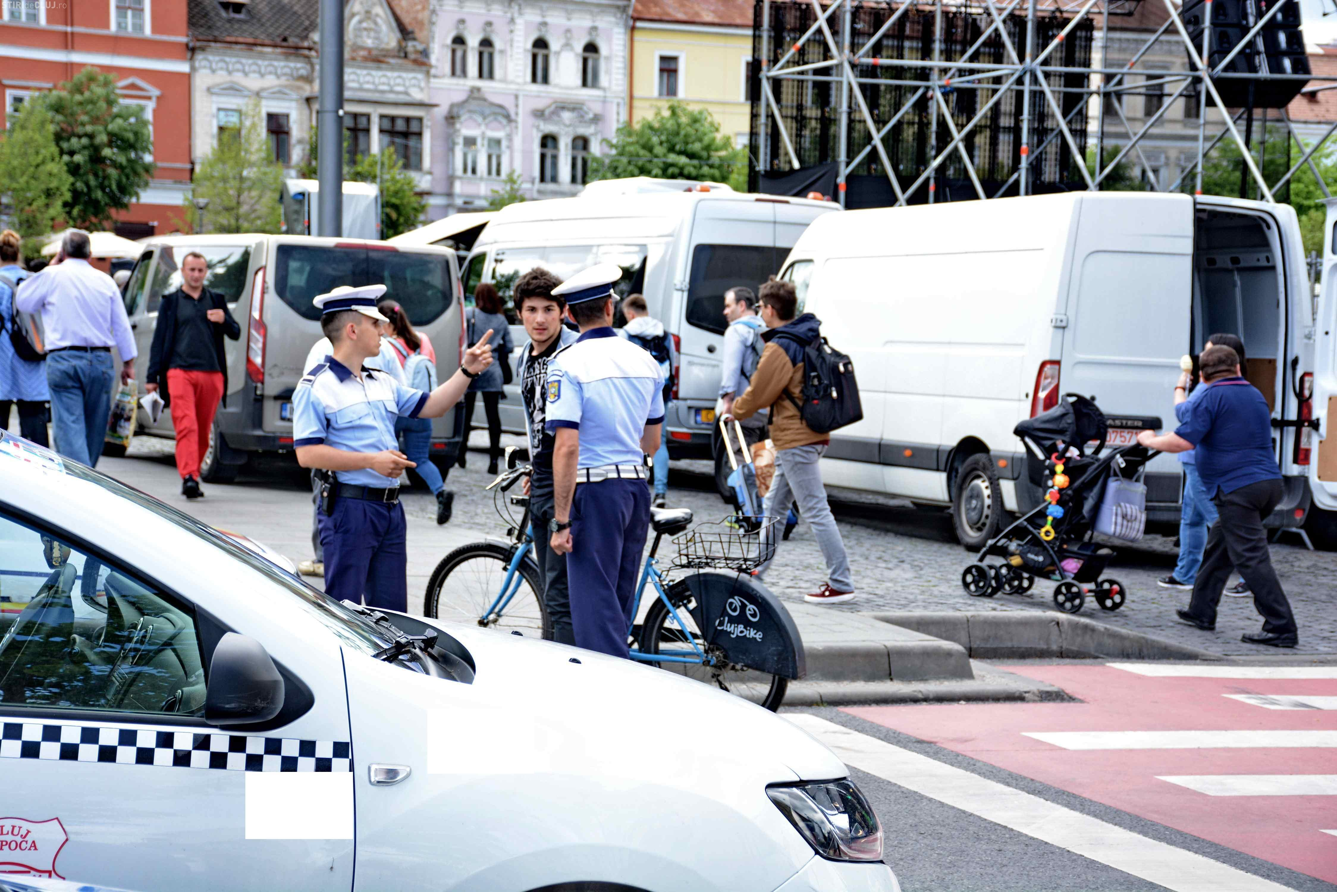 Protecție suplimentară în weekend, la Cluj, de zilele orașului. Ce recomandă polițiștii