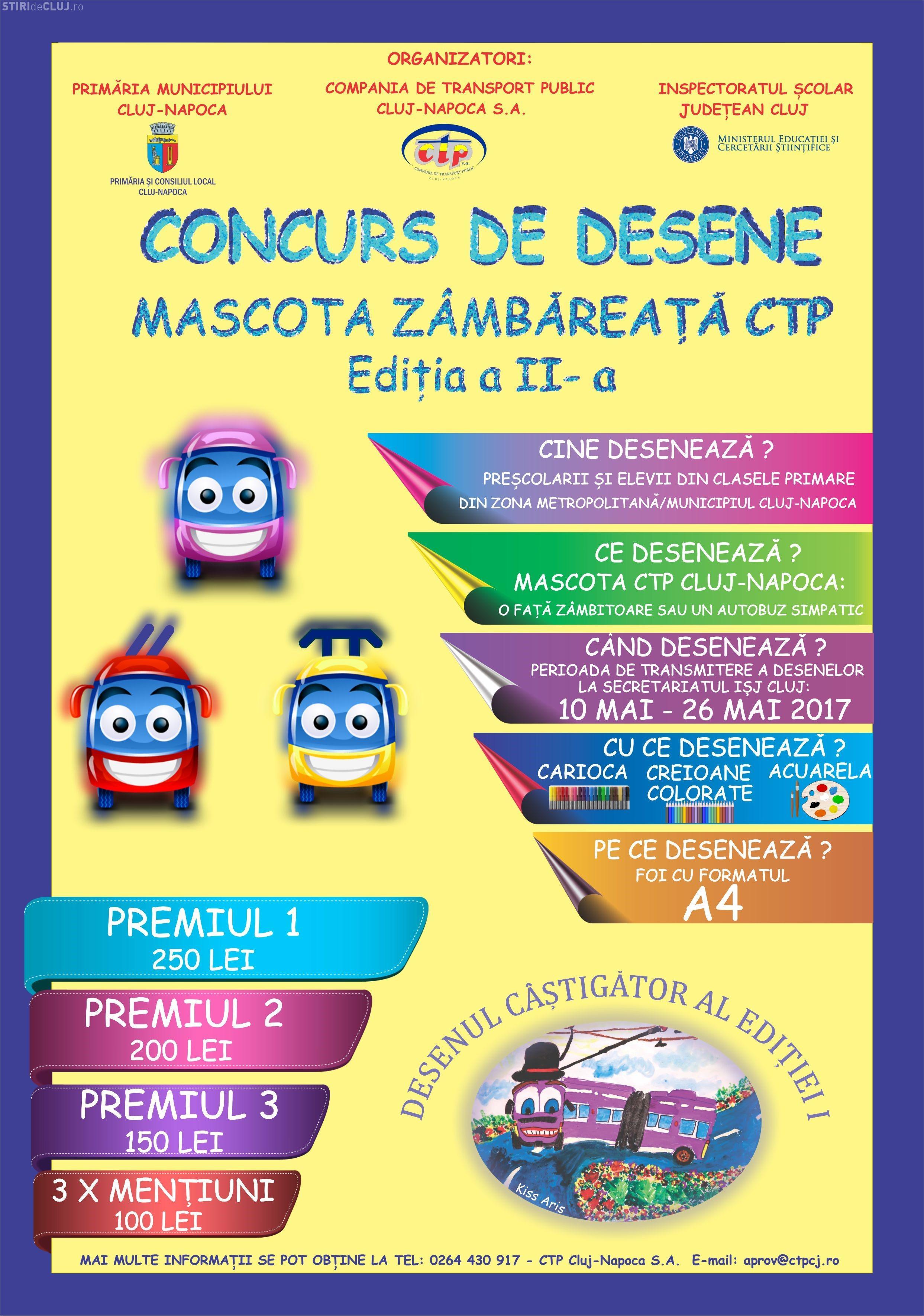 Concurs pentru noua mascotă a CTP Cluj. Vezi cine se poate înscrie și care sunt premiile