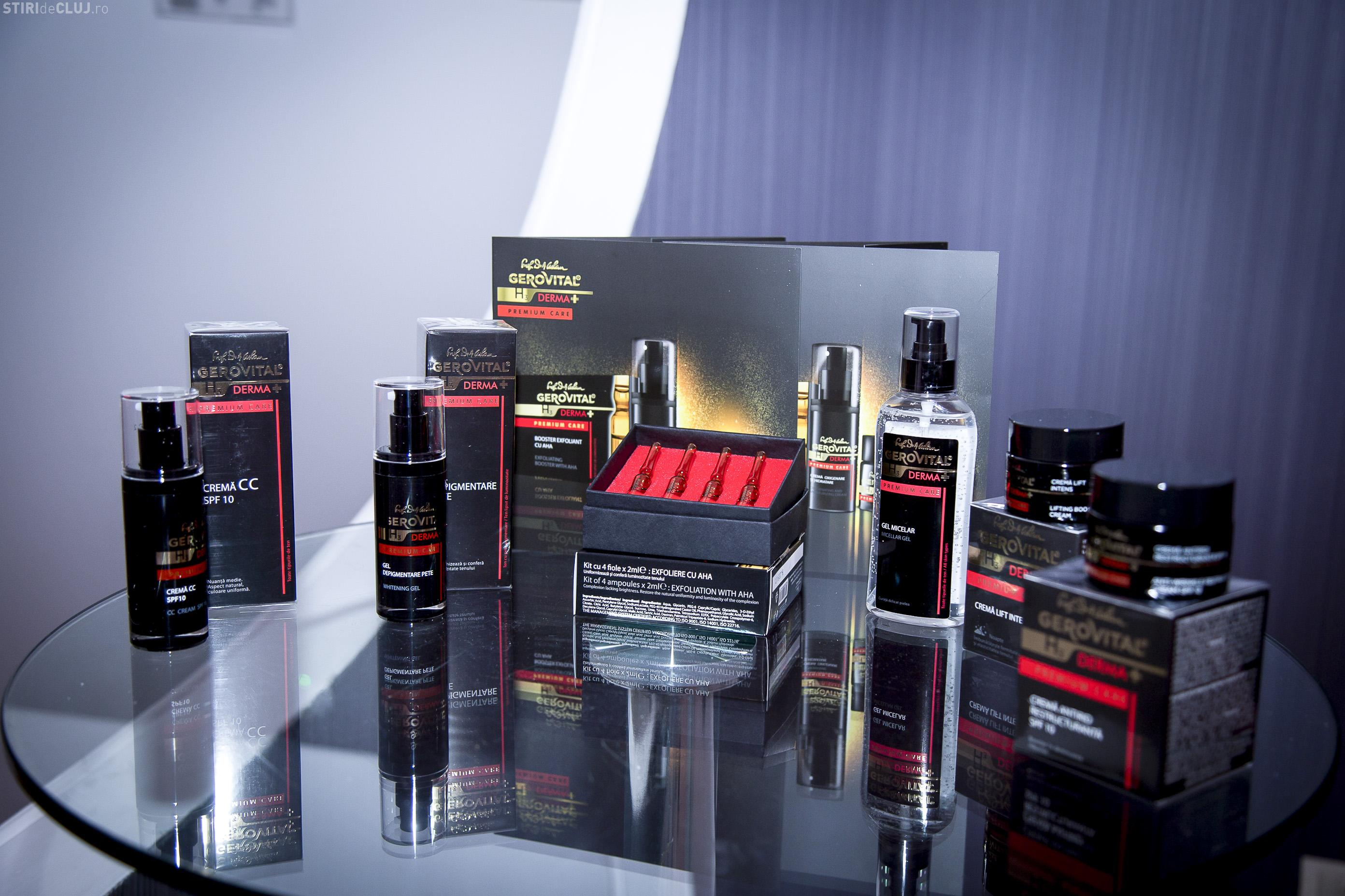 Premieră pentru Farmec! Compania clujeană lansează prima gamă premium a brandului Gerovital (P)