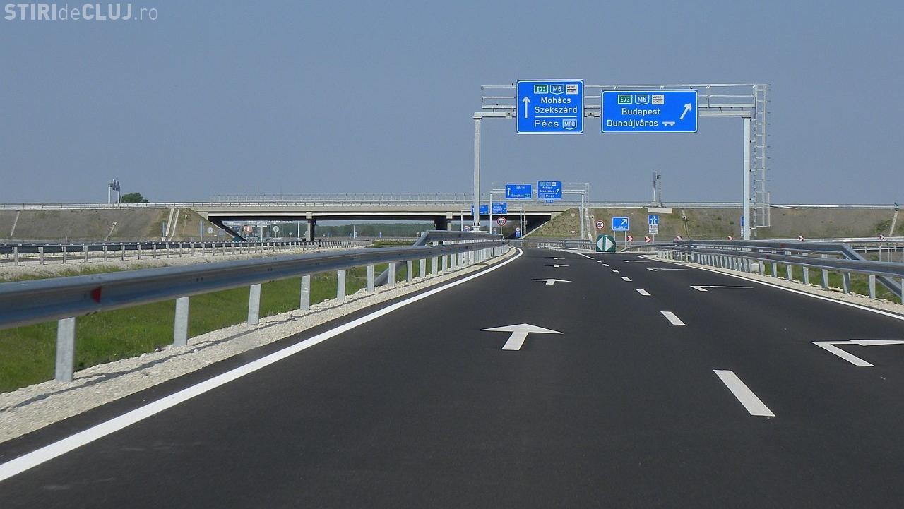 Ungurii aduc autostrada M3 până la granița cu România