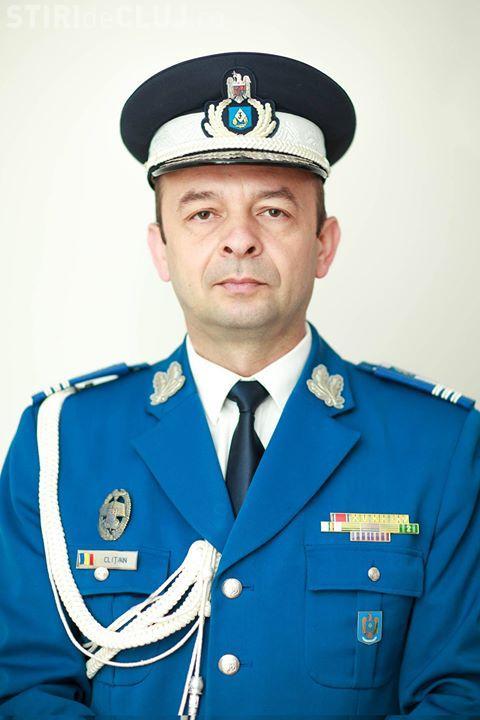 Noul comandant al Grupării de Jandarmi Mobile Cluj-Napoca vine din Sălaj