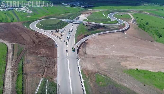 Cum arată tronsonul MUZEU din Autostrada Transilvania. E aproape gata, dar nu poate fi folosit - VIDEO