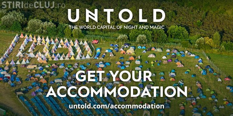 UNTOLD anunță care sunt locurile de cazare disponibile la festival! Vezi cât costă