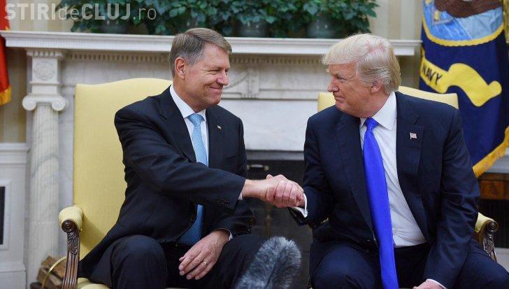 Declarațiile lui Trump, după vizita lui Iohannis la Casa Albă: Susținem lupta anticorupție!