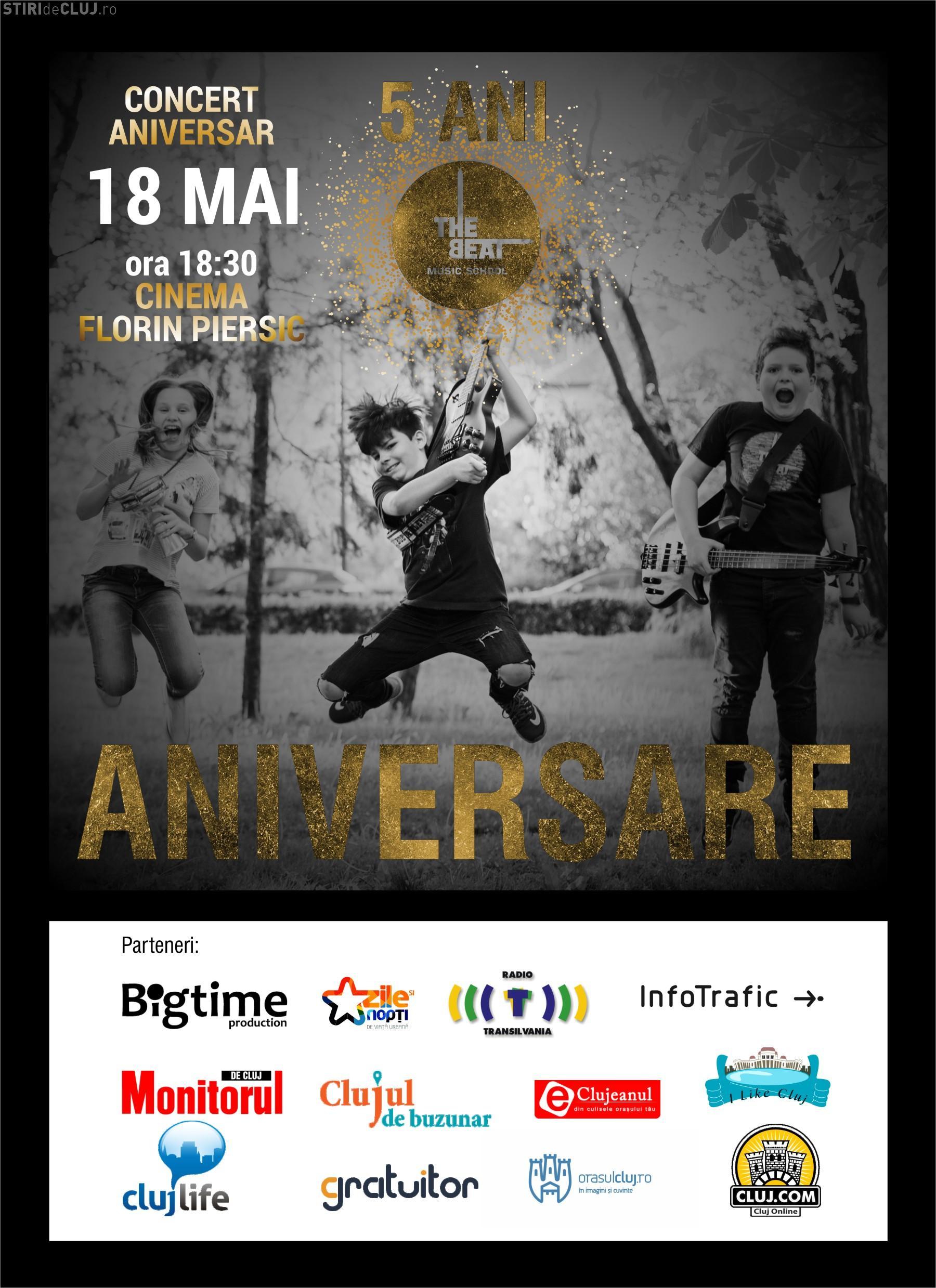 """Concert spectaculos la Cluj, pentru a aniversa 5 ani de """"The Beat"""". Vezi ce trupe vor urca pe scenă"""