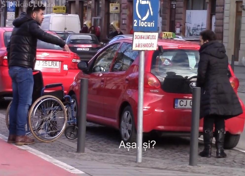 Cluj-Napoca: Toleranță ZERO față de cei care ocupă parcărilor persoanelor cu dizabilități
