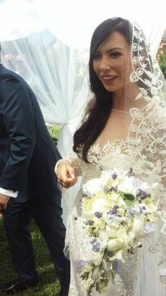 Nora prefectului Clujului, Gheorghe Vușcan, a purtat o rochie de 22.000 de euro la nuntă