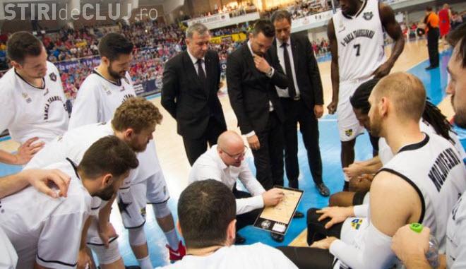 S-au epuizat biletele la meciul de baschet U Banca Transilvania - CSU Oradea. Unde puteți vedea meciul