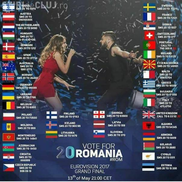 EUROVISION 2017: Salvador Sobral a câștigat (VIDEO). România e pe locul 7 (VIDEO). Ce succes au reușit clujenii
