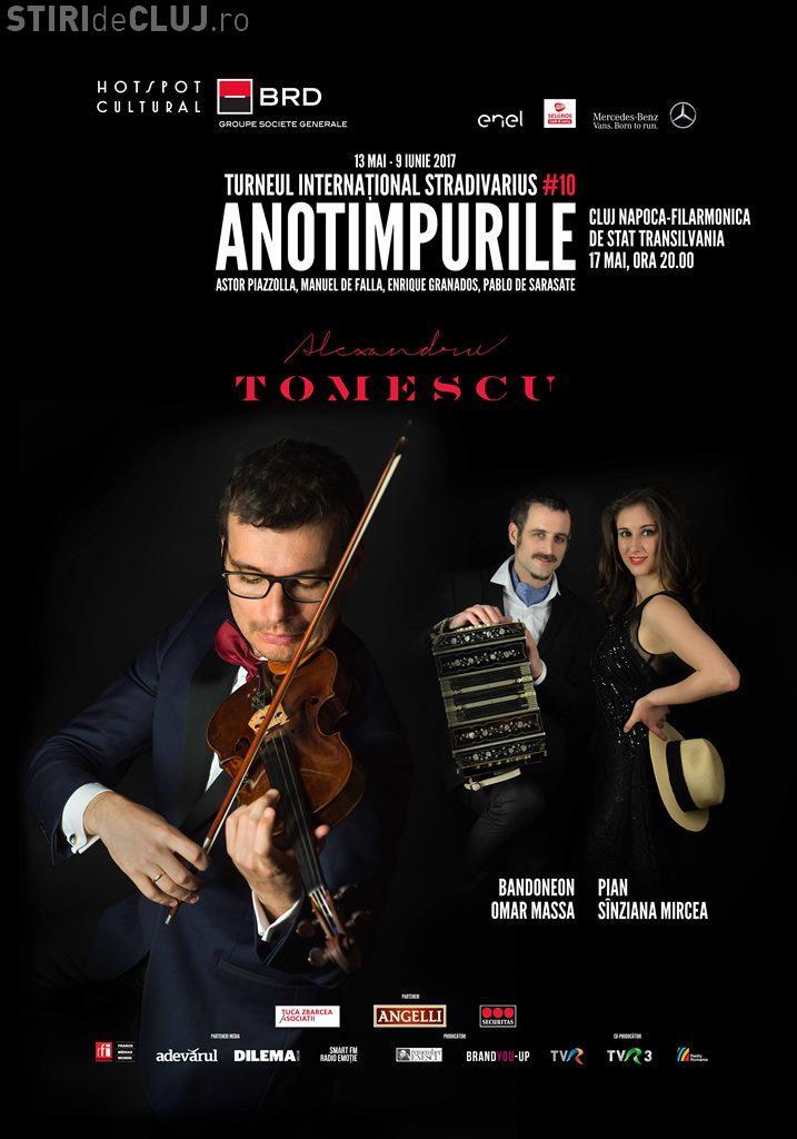 Turneul Internațional Stradivarius ajunge la Cluj