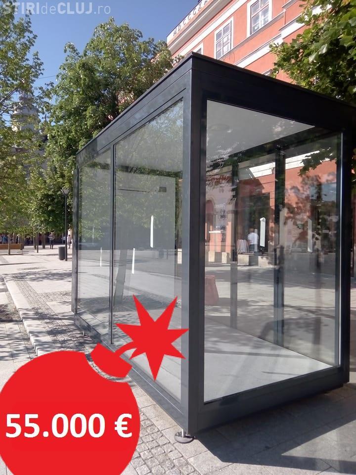 PSD Cluj: Chioșc de ziare la preț de apartament în Cluj-Napoca: 55.000 de euro