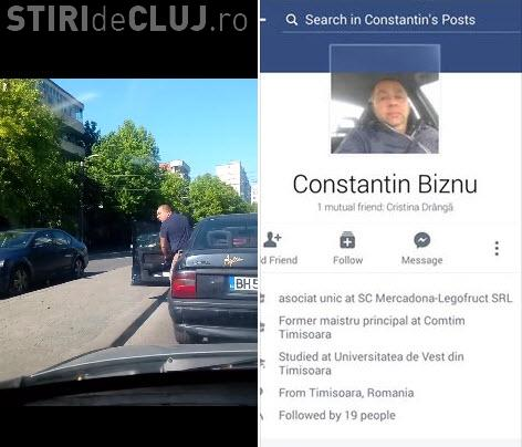 Road Rage pe un drum din România: A scos parul pentru că l-am claxonat - VIDEO