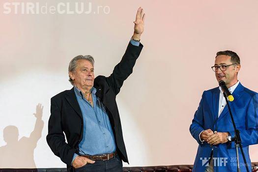 Alain Delon a prezentat la TIFF primul film produs chiar de el. Ce le-a transmis legendarul actor clujenilor VIDEO