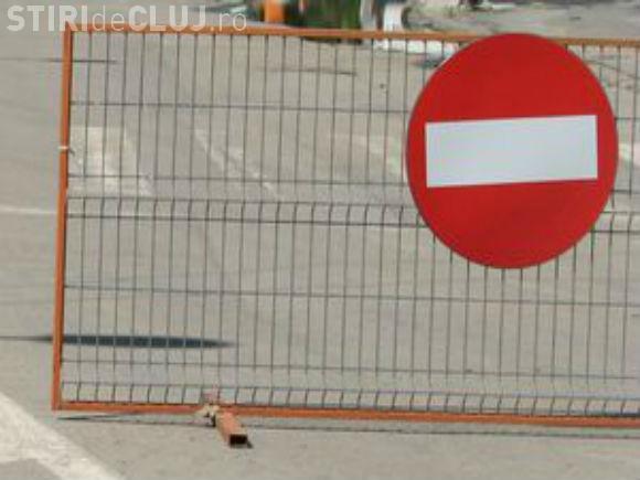 Restricții de circulație și în acest weekend la Cluj. Vezi pe unde nu ai voie să mergi cu mașina
