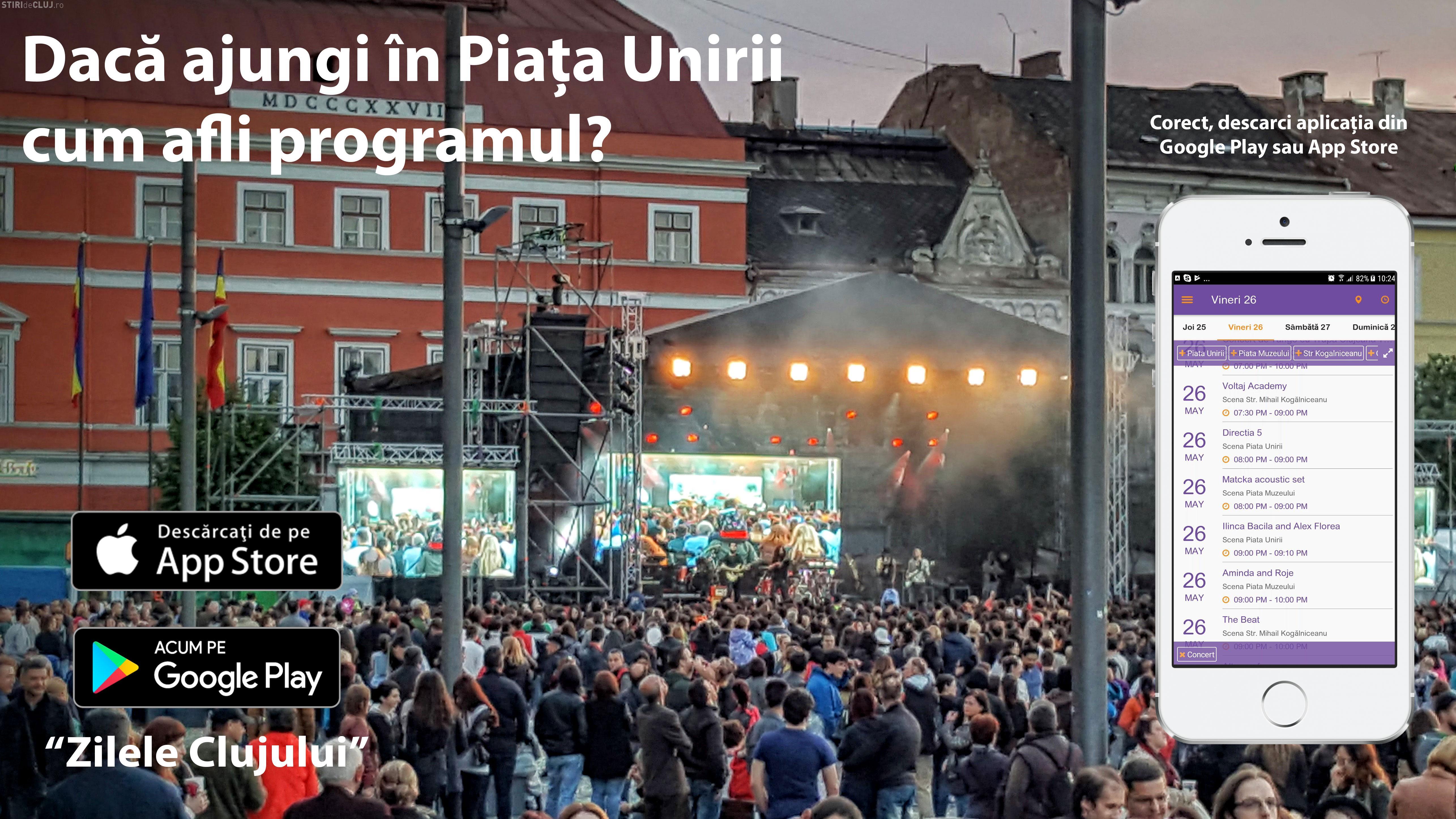 Prima aplicație mobilă pentru Zilele Clujului - FOTO
