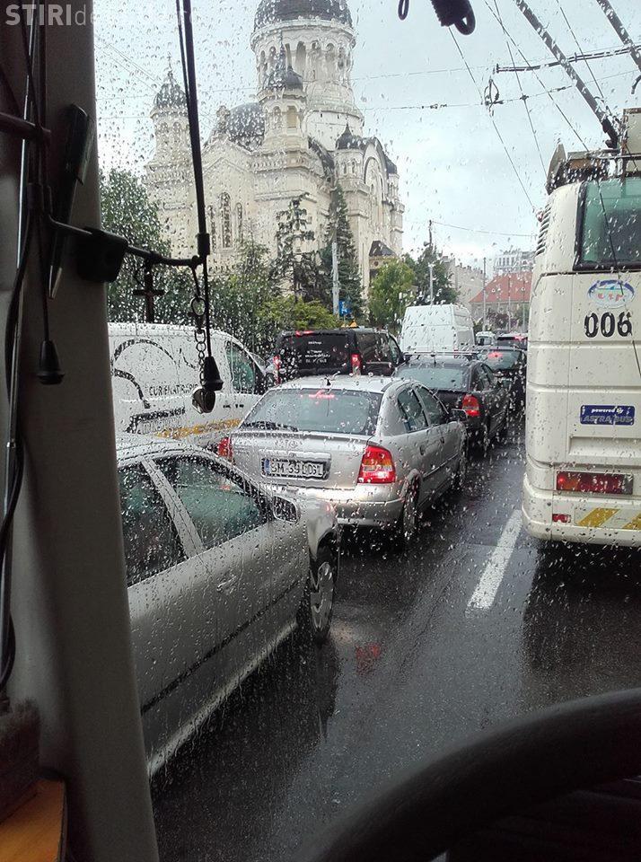 Șofer CTP Cluj: Am făcut o oră 20 cu linia 3 până în P-ta Mihai Viteazu