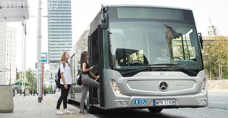 Clujul va avea 50 de autobuze Mercedes pe transportul public