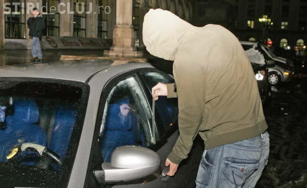 Spărgător de autoturisme prins la Cluj. Care este VESTEA bună