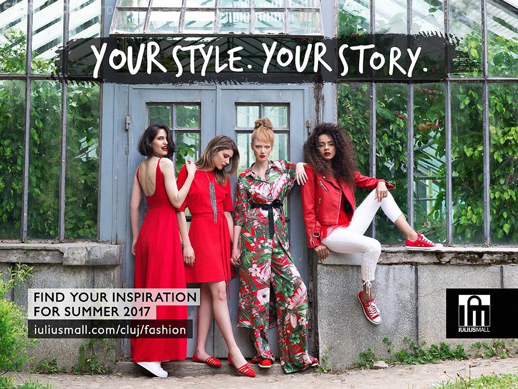 Iulius Mall Cluj a lansat cel mai dinamic catalog fashion online, realizat prin tehnica cinemagraph (P)