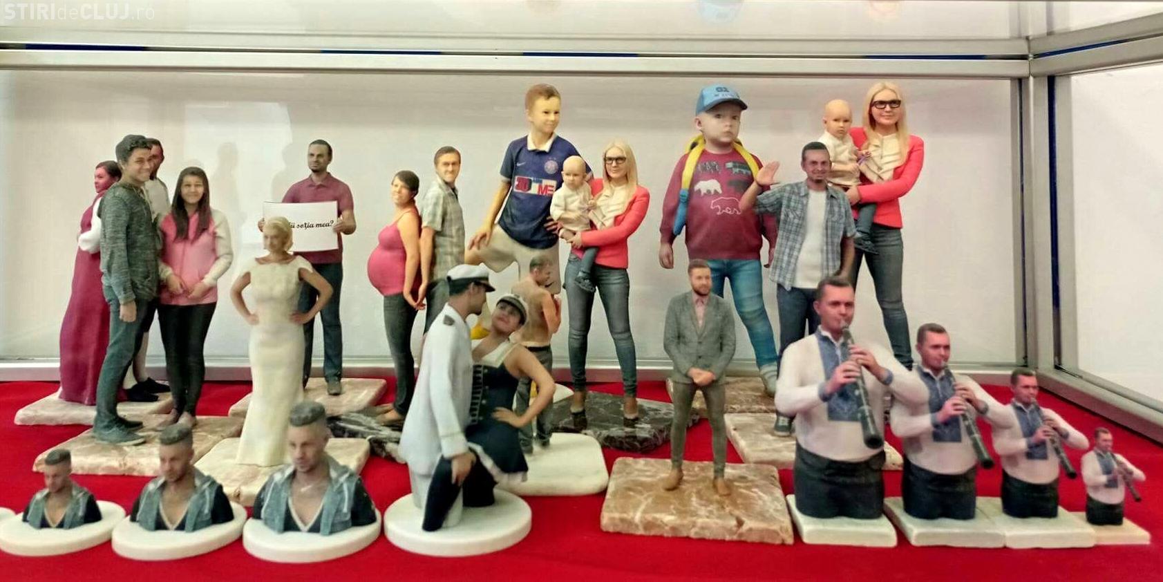 Unicul studio din România care imprimă amintiri tridimensionale, 3D MINI ME, în Iulius Mall Cluj (P)