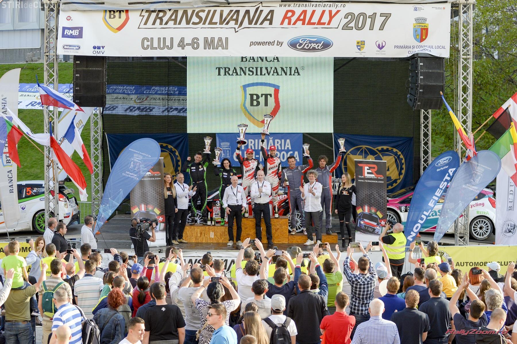Proba specială din Florești și super speciala de la Cluj Arena, VEDETE la BT Transilvania Rally