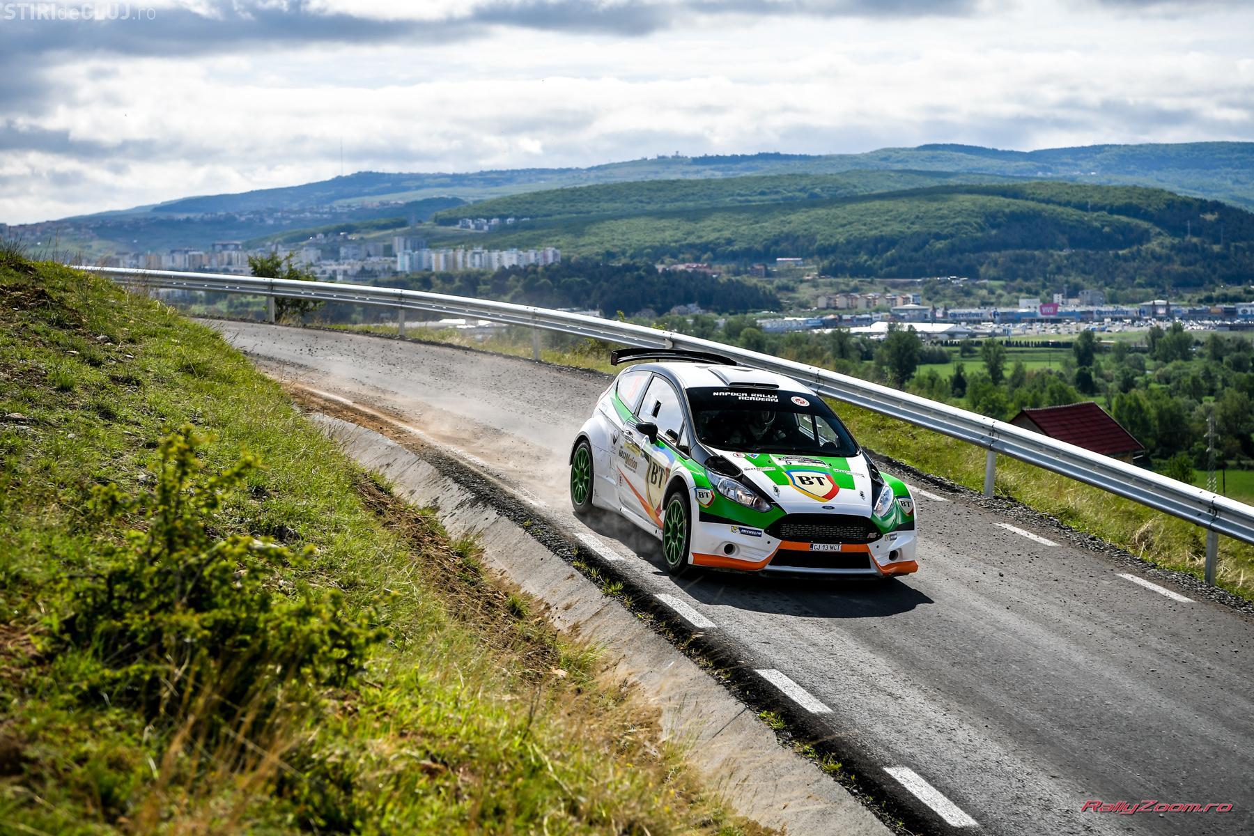 Campionul european Giandomenico Basso câștigă prima zi a BT Transilvania Rally