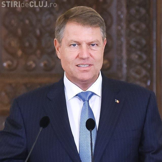 Klaus Iohannis se adresează Parlamentului
