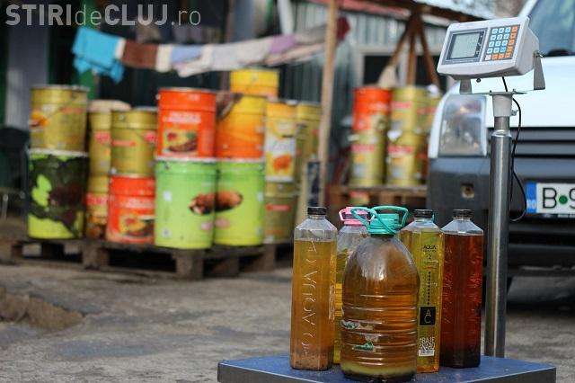 Nu arunca uleiul folosit în chiuvetă sau WC