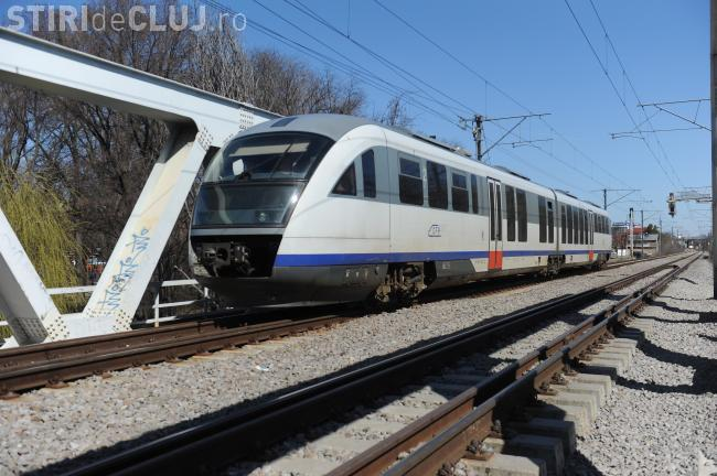 Un tren metropolitan va circula între Baciu și Jucu cu 120 km/h
