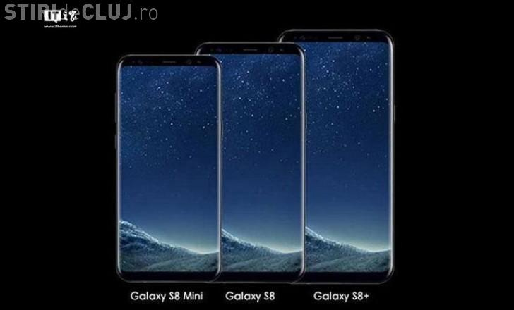 """Samsung se pregătește să lanseze o variantă """"mini"""" a lui Galaxy S8"""