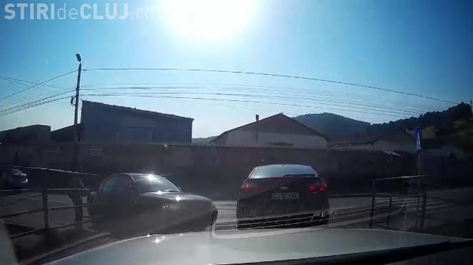 Florești: Răfuială între șoferi. Cine trece primul!!! În scurt timp vor urma bătăi în trafic - VIDEO