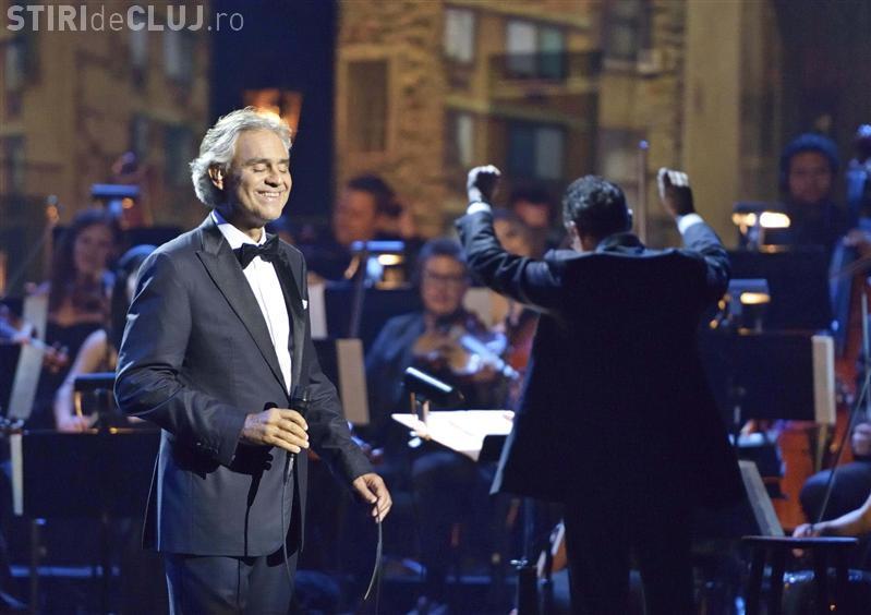 Cum a fost concertul lui Andrea Bocelli la Cluj - VIDEO