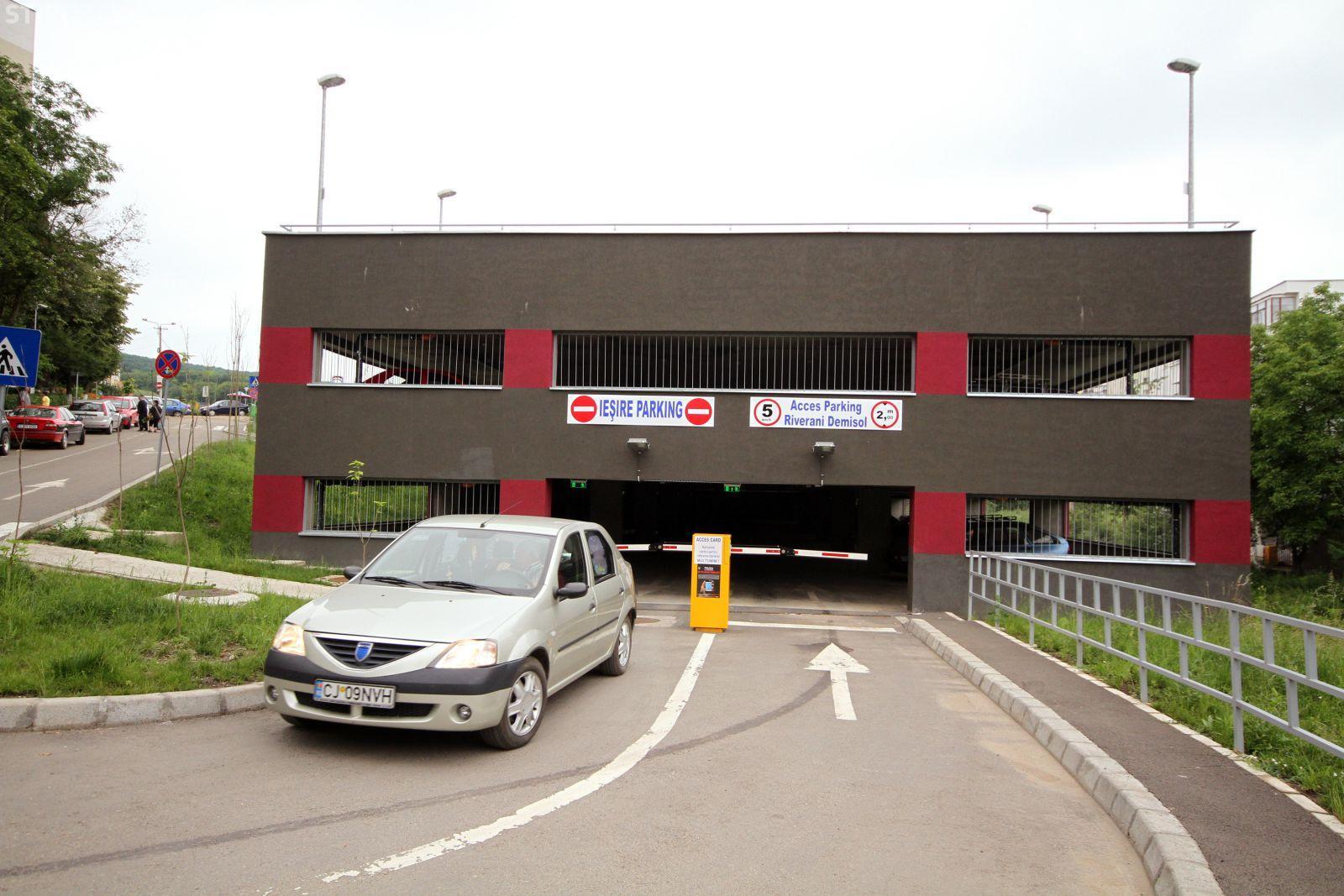 Cluj-Napoca: Noi parkinguri în oraș. 2.400 de locuri de parcare
