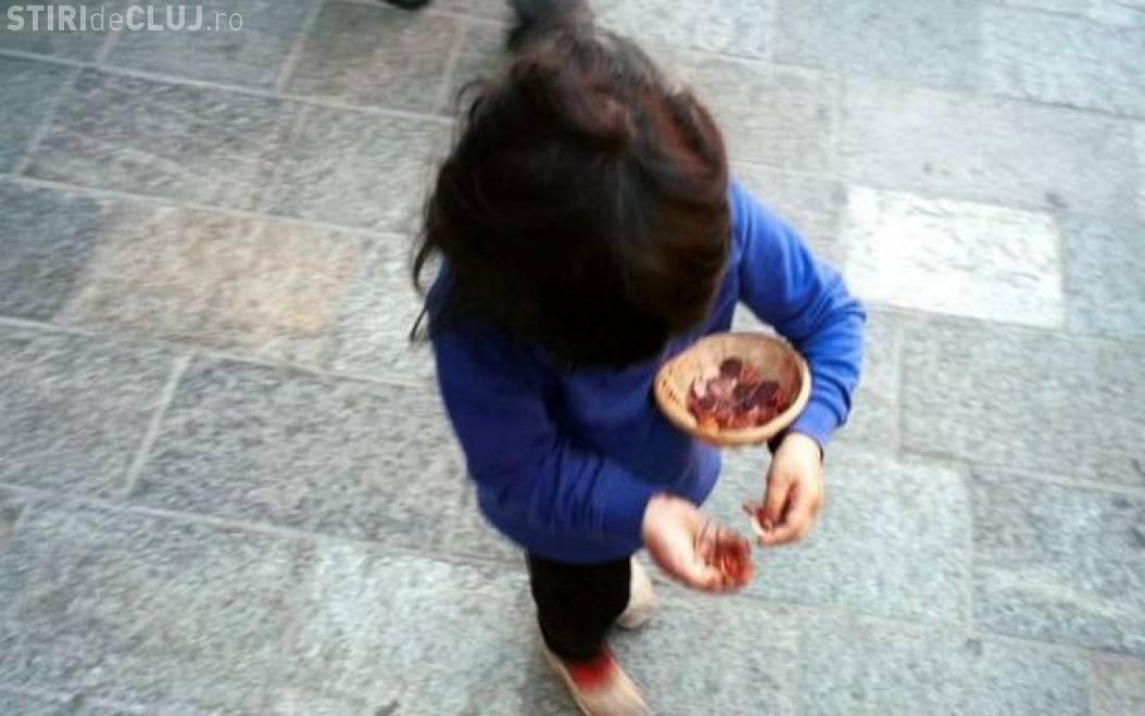 Minori puși la cerșit în Cluj-Napoca. Poliția Locală a intervenit
