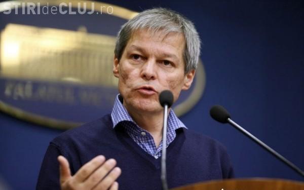 Mesajul DUR a lui Cioloș, după adoptarea moțiunii împotriva lui Grindeanu