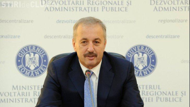 Vasile Dâncu a spus că nu vrea nicio funcție în Guvern