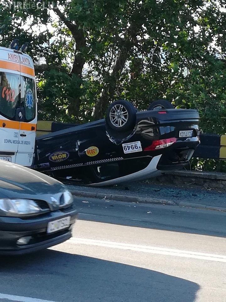 Accident la fiecare 3 -4 zile la Podul Gării: Vă rugăm să montați semafoare - FOTO