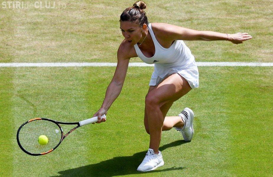 Simona Halep s-a calificat în sferturile turneului de la Eastbourne. Joacă două meciuri într-o zi