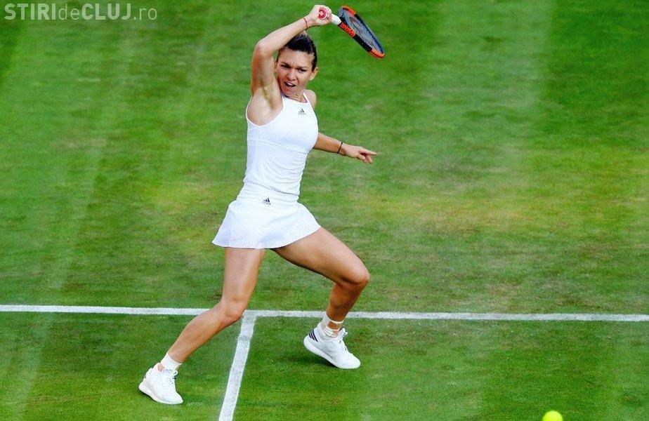 Halep s-a calificat în sferturile de la Wimbledon! Un singur meci o desparte de locul 1 în lume