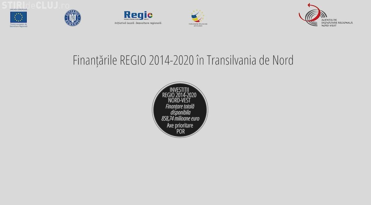 Transilvania de Nord se dezvolta prin REGIO 2014-2020. Vezi care sunt prioritatile de finantare pentru regiunea noastra